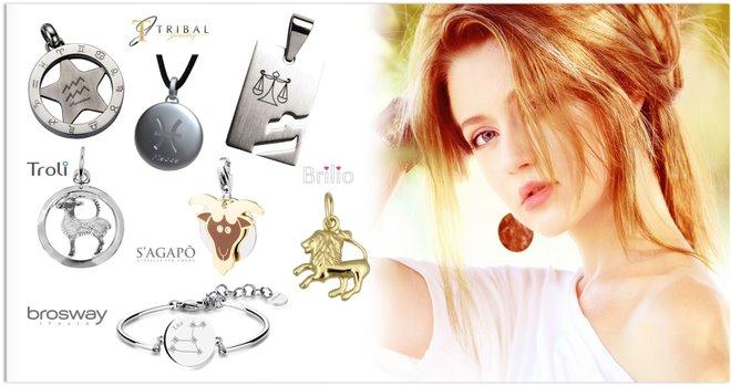 Dámské šperky znamení zvěrokruhu